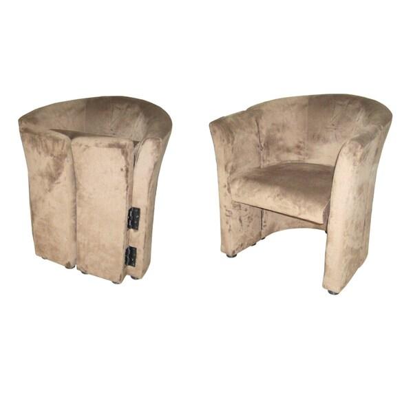 Shop Microfiber Folding Chair - Free Shipping Today - Overstock - 7876962  sc 1 st  Overstock.com & Shop Microfiber Folding Chair - Free Shipping Today - Overstock ...