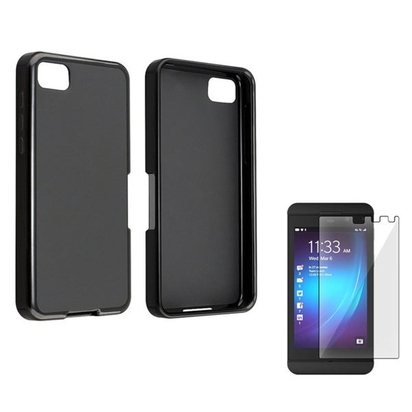 BasAcc TPU Case/ Screen Protector for BlackBerry Z10