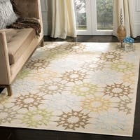Martha Stewart by Safavieh Quilt Cream Cotton Rug - 8'6 x 11'6