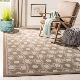 Martha Stewart by Safavieh Puzzle Geometric Wool Rug