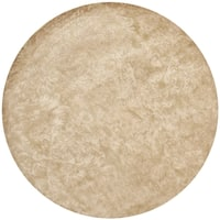Martha Stewart by Safavieh Damask Honeycomb Wool/ Viscose Rug - 6' Round