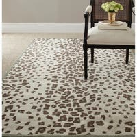 Martha Stewart by Safavieh Kalahari Grassland Green Wool/ Viscose Rug - 8' x 10'