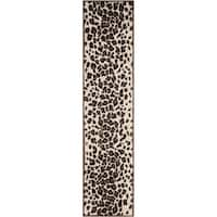 "Martha Stewart by Safavieh Kalahari Sequoia Brown Wool/ Viscose Rug - 2'3"" x 10'"