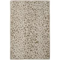 Martha Stewart by Safavieh Kalahari Sharkey Grey Wool/ Viscose Rug - 2'6 x 4'3