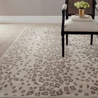 Martha Stewart by Safavieh Kalahari Sharkey Grey Wool/ Viscose Rug - 8' x 10'