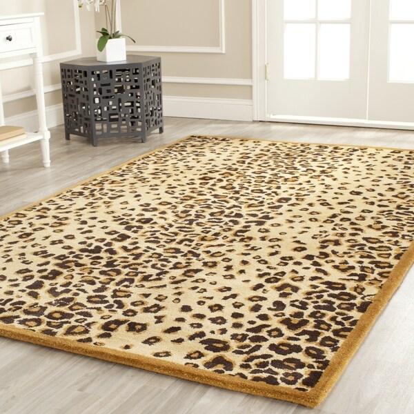 Martha Stewart by Safavieh Kalahari Teak Wool/ Viscose Rug - 9' 6 x 13' 6