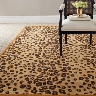 Martha Stewart by Safavieh Kalahari Teak Wool/ Viscose Rug - 8' x 10'