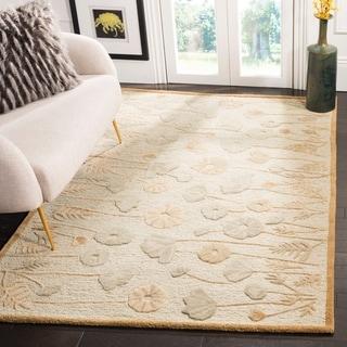Martha Stewart Poppy Glossary Nutshell/ Brown Wool/ Viscose Rug (9' 6 x 13' 6)