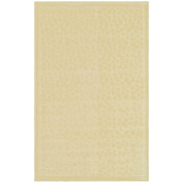 Martha Stewart by Safavieh Reptilian Cream Viscose Rug (2' 7 x 4')