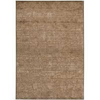 Martha Stewart by Safavieh Heritage Bloom Soft Anthracite/ Camel Viscose Rug (4' x 5' 7) - 4' x 5'7