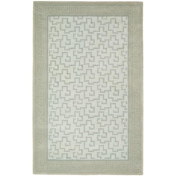 Martha Stewart by Safavieh Byzantium Rainwater Wool Rug - 9' x 12'