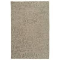 Martha Stewart by Safavieh Journey Stone Silk/ Wool Rug - 3'9 x 5'9