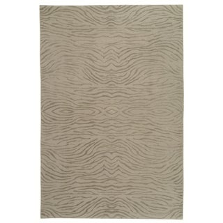 Martha Stewart by Safavieh Journey Stone Silk/ Wool Rug (8' 6 x 11' 6)