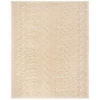 """Martha Stewart by Safavieh Surf Dune Silk Blend Rug - 3'9"""" x 5'9"""""""