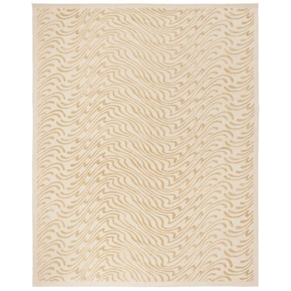 """Martha Stewart by Safavieh Surf Dune Silk Blend Rug - 8'-6"""" x 11'-6"""""""