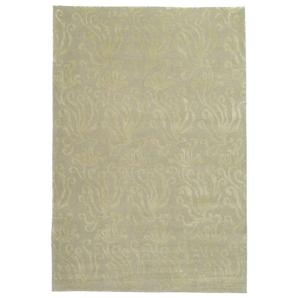 Martha Stewart by Safavieh Seaflora Shell Silk/ Wool Rug - 9' 6 x 13' 6