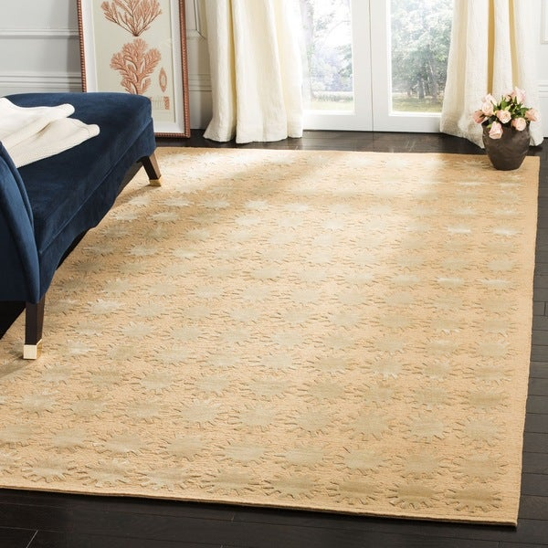 Martha Stewart by Safavieh Constellation Moon Silk/ Wool Rug - 8'6 x 11'6