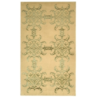 Martha Stewart by Safavieh Tracery Birch Silk/ Wool Rug (8' 6 x 11' 6)