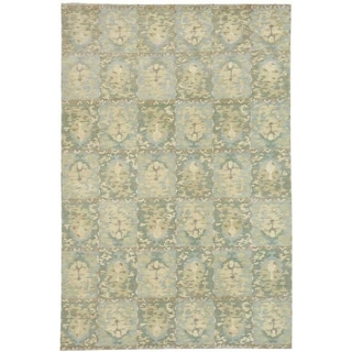 Martha Stewart Reflection Water Silk/ Wool Rug (8' x 10')