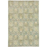 Martha Stewart by Safavieh Reflection Water Silk/ Wool Rug - 8' x 10'