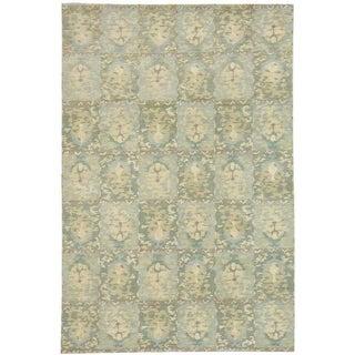 Martha Stewart by Safavieh Reflection Water Silk/ Wool Rug (8' x 10')