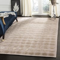 Martha Stewart by Safavieh Constellation Day/ Break Silk/ Wool Rug - 7'9 x 9'9