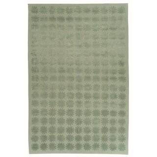 Martha Stewart by Safavieh Constellation Sky Silk/ Wool Rug (3' 9 x 5' 9)