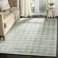 "Martha Stewart by Safavieh Constellation Sky Silk/ Wool Rug - 8'6"" x 11'6"""