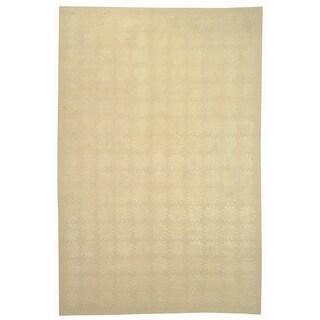 Martha Stewart by Safavieh Constellation Milky Way Silk/ Wool Rug (3' 9 x 5' 9)