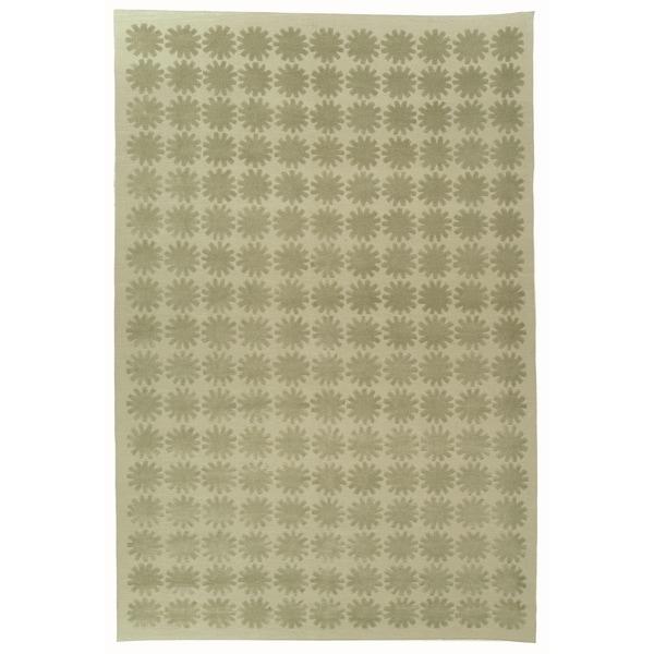 Martha Stewart by Safavieh Constellation Neptune Silk/ Wool Rug (7' 9 x 9' 9)