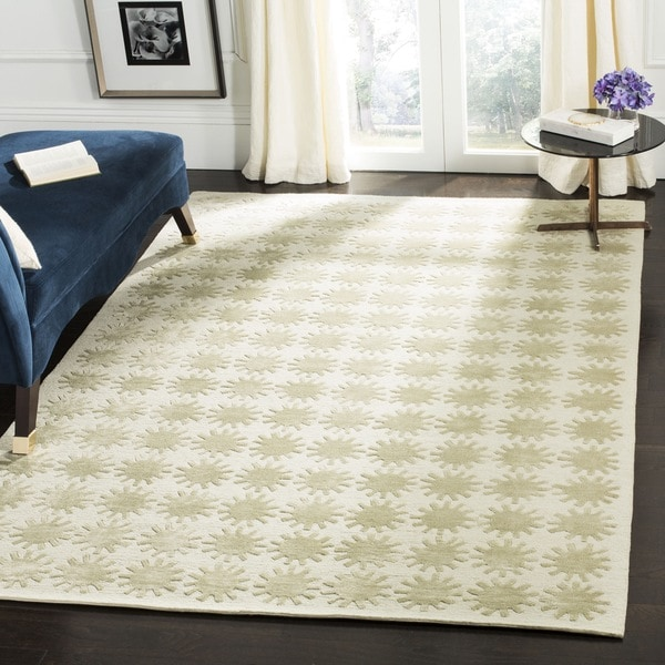 "Martha Stewart by Safavieh Constellation Neptune Silk/ Wool Rug - 8'6"" x 11'6"""