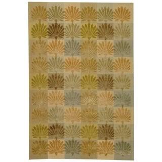 Martha Stewart by Safavieh Sanctuary Oasis Silk/ Wool Rug (8' 6 x 11' 6)|https://ak1.ostkcdn.com/images/products/7877768/7877768/Martha-Stewart-Sanctuary-Oasis-Silk-Wool-Rug-8-6-x-11-6-P15260800.jpg?impolicy=medium