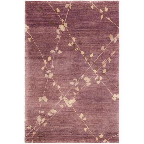 Martha Stewart by Safavieh Trellis Assorted Wool Rug - 9' 6 x 13' 6