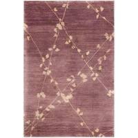 Martha Stewart by Safavieh Trellis Assorted Wool Rug - 3'9 x 5'9