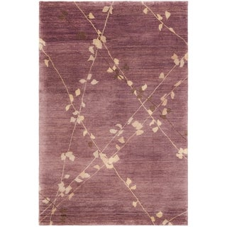 Martha Stewart by Safavieh Trellis Assorted Wool Rug - 5'6 x 8'6