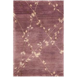 Martha Stewart Trellis Assorted Wool Rug (7' 9 x 9' 9)