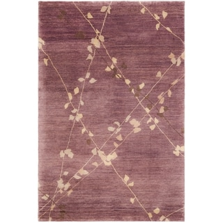 Martha Stewart by Safavieh Trellis Assorted Wool Rug (8' 6 x 11' 6)