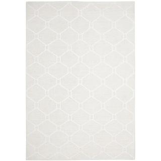Martha Stewart by Safavieh Piazza White Linen Rug (8' x 10')