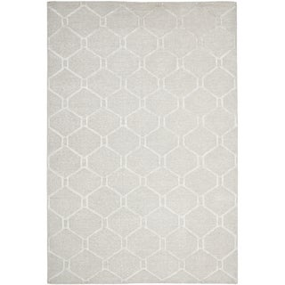 Martha Stewart Piazza Bedford Grey Linen Rug (6' x 9')