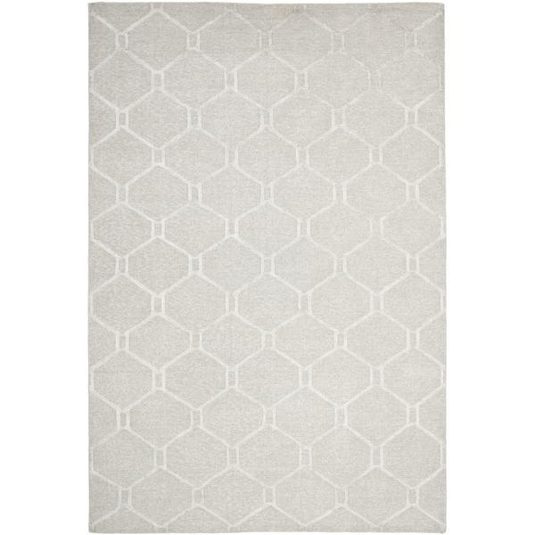 Martha Stewart by Safavieh Piazza Bedford Grey Linen Rug - 9' x 12'