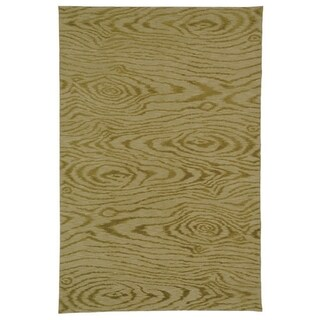 Martha Stewart by Safavieh Faux Bois Porcini Silk/ Wool Rug (8' 6 x 11' 6)
