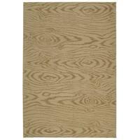 Martha Stewart by Safavieh Faux Bois Driftwood Silk/ Wool Rug (9' 6 x 13' 6) - 9' 6 x 13' 6