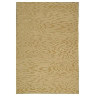 Martha Stewart by Safavieh Faux Bois Pinenut Silk/ Wool Rug (8' 6 x 11' 6)