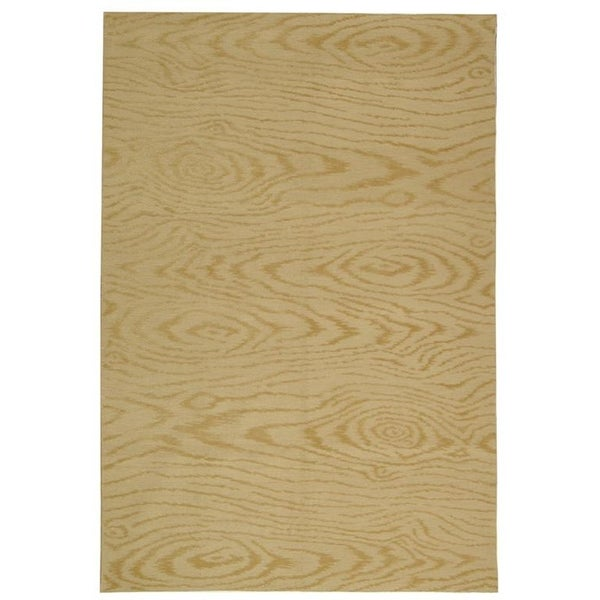 Martha Stewart by Safavieh Faux Bois Pinenut Silk/ Wool Rug - 8'6 x 11'6