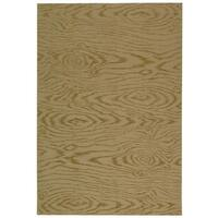 Martha Stewart by Safavieh Faux Bois Lichen Silk/ Wool Rug - 5'6 x 8'6