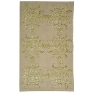 Martha Stewart by Safavieh Tracery Crystal Silk/ Wool Rug (8' 6 x 11' 6)|https://ak1.ostkcdn.com/images/products/7877857/7877857/Martha-Stewart-Tracery-Crystal-Silk-and-Wool-Rug-8-6-x-11-6-P15260881.jpg?impolicy=medium