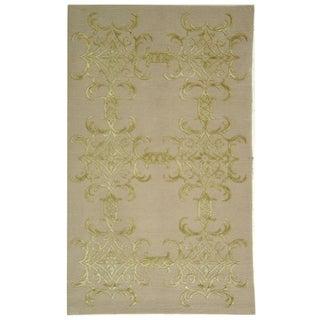Martha Stewart by Safavieh Tracery Crystal Silk/ Wool Rug (8' 6 x 11' 6)