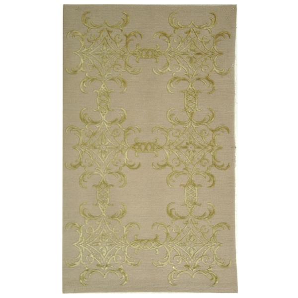 """Martha Stewart by Safavieh Tracery Crystal Silk/ Wool Rug - 8'6"""" x 11'6"""""""
