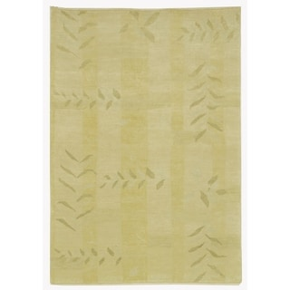 Martha Stewart by Safavieh Grasses Chamimile Wool Rug (8' x 10')
