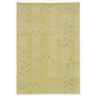 Martha Stewart by Safavieh Grasses Chamimile Wool Rug (9' x 12')